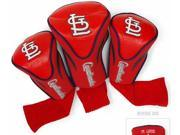 Team Golf TG-97594 Saint Louis Cardinals Mlb Set of Three Contour Headcovers