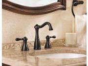 Price Pfister GT49-M0BY 8 in. Marielle Widespread 2-Handle High-Arc Bathroom Faucet in Tuscan Bronze