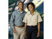 Medline MDT73018715 Unisex Work Shirts - Blue