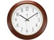 River City Cuckoo 801-401 Radio-controlled Post Office Wall Clock with Cherry Finish