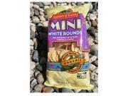 Organic Mini White Round Chips, Pack of 12