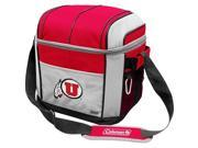 Coleman IF-COL-02513105111 Utah Runnin Utes 24 Can Soft Side Cooler