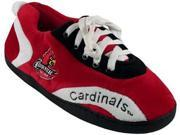 Comfy Feet CF-LOU05XL Louisville Cardinals All Around Sneaker Slippers - X-Large