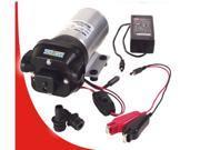 Bur-Cam Pumps 300209DP Combination Portable Utility Pump 12 Volt DC and 115Volt AC