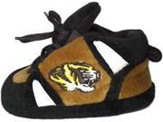 Comfy Feet CF-MIS03PR Missouri Tigers Baby Slippers