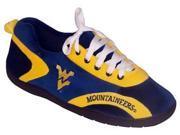 Comfy Feet CF-WVA052X West Virginia WVU Mountaineerss All Around Sneaker Slippers - XX-Large
