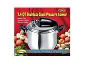 MBR Industries BC-33869 Stainless Steel 7.4-Quart Pressure Cooker