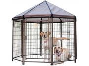 Advantek 23200 5' x 5' Octagonal The Pet Gazebo
