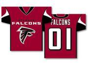 Fremont Die BP-93920B Atlanta Falcons 2 Sided Jersey Banner Flag