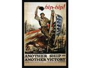 Hip-hip Another ship - another victory 12x18 Giclee On Canvas