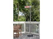 Well Traveled 02117 Living Stainless Steel Offset Infrared Patio Heater