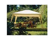 Coolaroo 446703 Isabella Gazebo 12 ft. x 10 ft. Camel-White