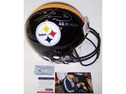 Creative Sports Enterprises APROPS-WARD-MVP-PSA Hines Ward Hand Autographed Signed Pittsburgh Steelers Authentic Helmet - PSA-DNA