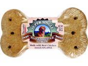 Triumph Pet Industries Super Single Biscuit Peanut Butter 00007 Pack of 30