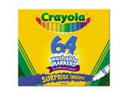 Crayola. 588764 Pip-Squeaks Skinnies Washable Markers, 64 Colors, 64-Set