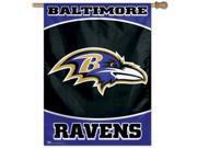 Wincraft CD-3208557318 Baltimore Ravens 27 in. x 37 in. Banner