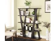 Coaster 800318 Modern Bookshelf with Inverted Supports and Open Shelves