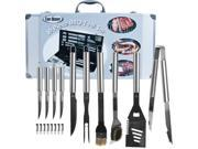ADG 75-4274B Chef Buddy  19 Piece Heavy Duty BBQ Set with Case