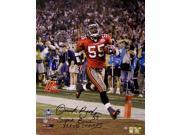 Derrick Brooks Autographed Hand Signed Tampa Bay Buccaneers 16x20 Photograph