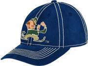 Adidas CG-ET62Z-TPC-ND Notre Dame Fighting Irish Adidas Retro Logo Slouch Adjustable Hat