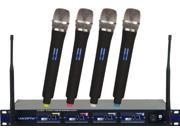 Vocopro UHF5800-6 4-Channel Wireless Microphone