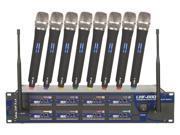 Vocopro UHF8800III Professional 8 Channel Uhf Wireless Microphone System
