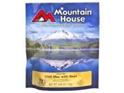Mountain House 65209900 Freeze Dried Chili Mac with Beef Entre - 2 Servings