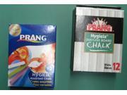 Beka 61400 Prang Chalk: dustless, non-toxic, sticks in 6 colors