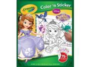 Crayola Apr-26 Color N Sticker Book-Sofia The First