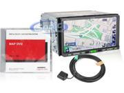 Eclipse AVN62D Double DIN 7'' TFT-LCD Touchscreen DVD/CD/MP3 Receiver with GPS Navigation System