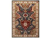 Jaipur Rugs RUG113676 Hand-Tufted Durable Wool Blue-Ivory Rug - PM107