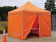 King Canopy FSSW4P10HV Festival Instant Canopy Enclosure Kit 10x10 Sidewalls