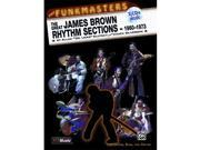 Alfred 00-MMBK0061CD The Funkmasters- The Great James Brown Rhythm Sections 1960-1973 - Music Book