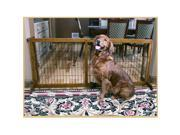 Carlson 2870DS 2-in-1 Extra Tall Wood Freestanding Pet Gate