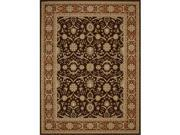 Nourison 17799 Persian Crown Area Rug Collection Dk. Brown 2 ft 2 in. X 7 ft 6 in. Runner