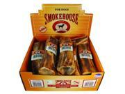 Smokehouse Pet Usa Made Round Meaty Bone Display 7 Inch-10 Piece 42405 Pack of 10
