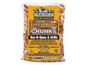 Smokehouse Products 9760-010-0000 All Natural Flavored Wood Smoking Hickory Chunks, Pack Of 12
