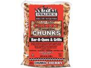 Smokehouse Products 9790-010-0000 All Natural Flavored Wood Smoking Chips Cherry Chunks, Pack Of 12