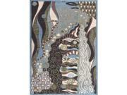 Nourison 18322 Modesto Area Rug Collection Bl 3 ft 11 in. X5 ft 3 in. Rectangle