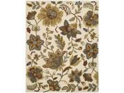 Nourison 12397 In Bloom Area Rug Collection Ivory 2 ft 6 in. x 4 ft Rectangle