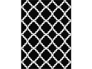 Metro 1036 Black 7.83 ft. x 10.25 ft. Contemporary Area Rug