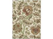 Nourison 17676 Waverly Global Awakening Area Rug Collection Pear 5 ft x 7 ft Rectangle