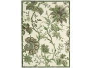 Nourison 17444 Waverly Artisanal Delight Area Rug Collection Leaf 2 ft 6 in. x 4 ft Rectangle