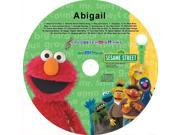 Sesame Street 124 Personalized Elmo And Friends Sing Along CD - Abigail
