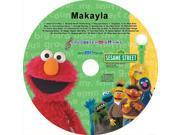 Sesame Street 198 Personalized Elmo And Friends Sing Along CD - Makayla