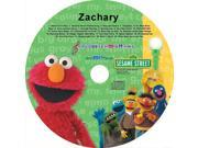 Sesame Street 228 Personalized Elmo And Friends Sing Along CD - Zachary