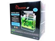 Aquatop Aquatic Supplies Nano Sky Complete Aquarium Kit 4 Gal NS-4G