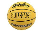Baden BHT6R-00-F SkilCoach Official Heavy Trainer Yellow Rubber Basketball Size 28.5 in.