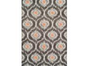 Dalyn MG360PE5X8 5 ft. 3 in. x 7 ft. 7 in. Modern Greys Pewter Area Rug