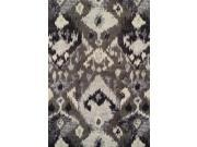 Dalyn MG525PE5X8 5 ft. 3 in. x 7 ft. 7 in. Modern Greys Pewter Area Rug